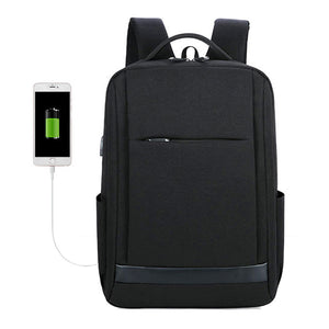 New Student Leisure Travel Backpack with USB Smart Charge