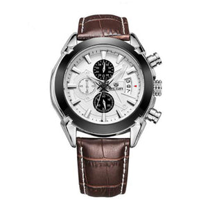 Men Quartz Watch Leather Business