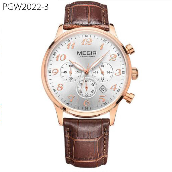 Luxury Men Quartz Watch Chronograph Business