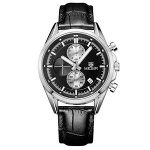 Quartz Watches Men Chronograph Wristwatches