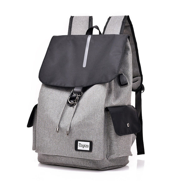 New Smart Usb Backpack Casual