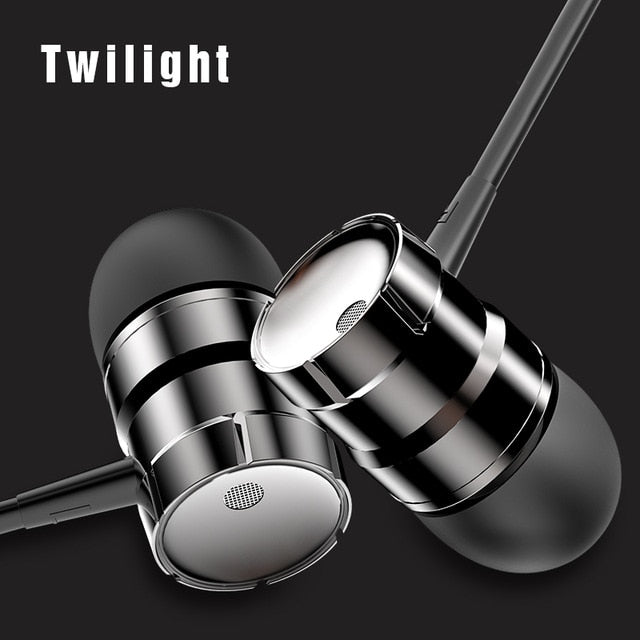 Rock In-ear Stereo Earphone Headset 3.5mm