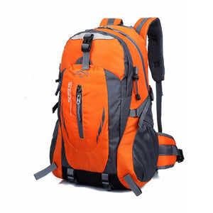 Outdoor Backpack  Camping Hiking Athletic Travel Backpack Unisex Climbing Sport Bags Waterproof