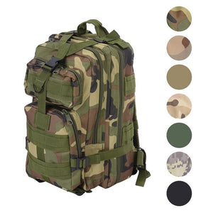 Outdoor Multifunctional Sports Camping Trekking Hiking Bag Military Tactial Rucksacks Backpack Travel Bags 25L-30L