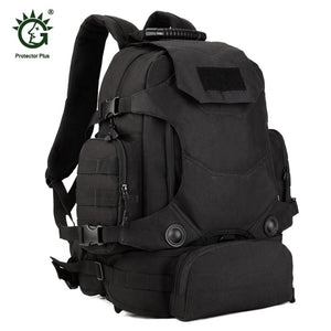 40L Multifunctional Men Women Outdoor Military Molle Tactical Backpack Rucksack Hiking Camping Water Resistant Bags