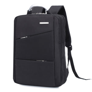 "Large Capacity Laptop Bag Backpack with Aluminum Handle Waterproof Nylon Backpack Multi-layer notebook bag for 14/15"" Notebook"