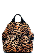 Leopard Convertible Backpack
