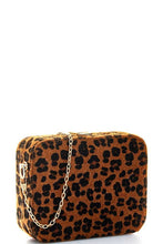 Leopard Fur Crossbody Purse