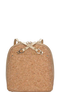 Cork It Gold Backpack/Handbag