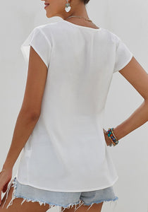Egyptian Blouse-White