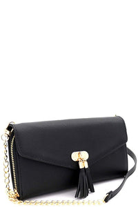 Smartphone Wallet Cross Body-Black