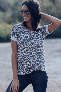 Total Leopard Top