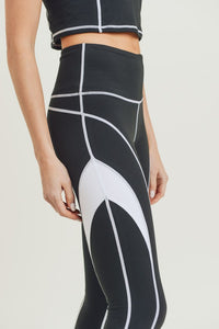 Splice Colorblock Leggings