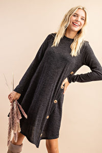 Black Tunic Swing Dress
