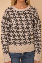 Hounds Tooth Sweater