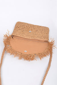 Yes Summer Straw Clutch