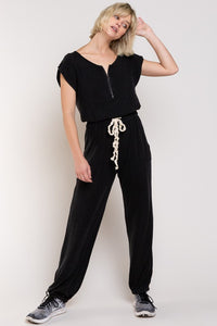 Castlerock Black Jumpsuit