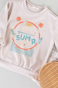 Hello Sunshine Seashell Sweatshirt