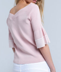 Carnation Pink Sweater