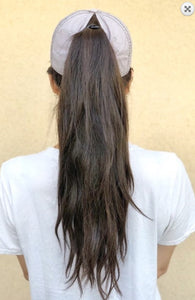 Charcoal Ponytail Cap
