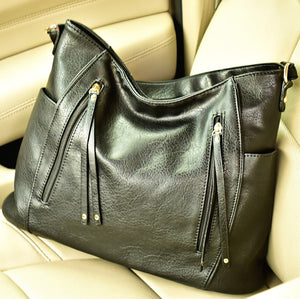 Kendall Tote Bag-Black