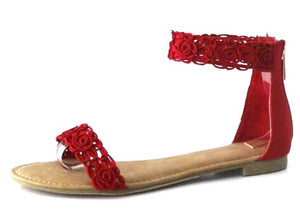 Magnificent Red Sandal