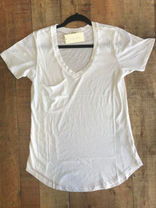 Pocket Tee-White