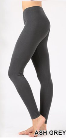 Leggings-Ash Grey