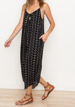 Black Aztec Jumpsuit