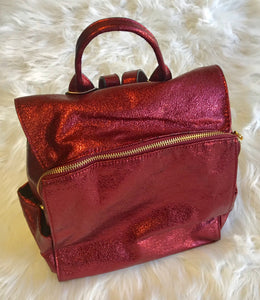 Glitter Red Backpack