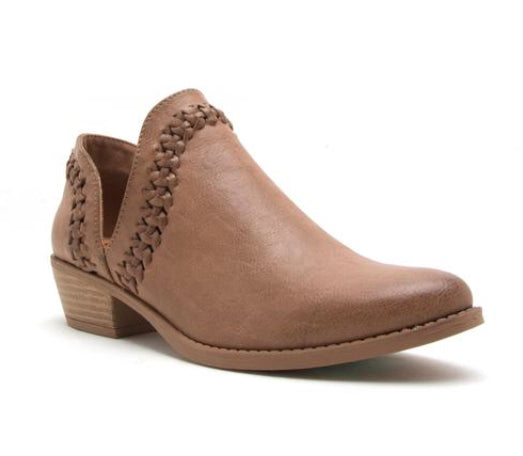 Sochi Bootie-Light Brown