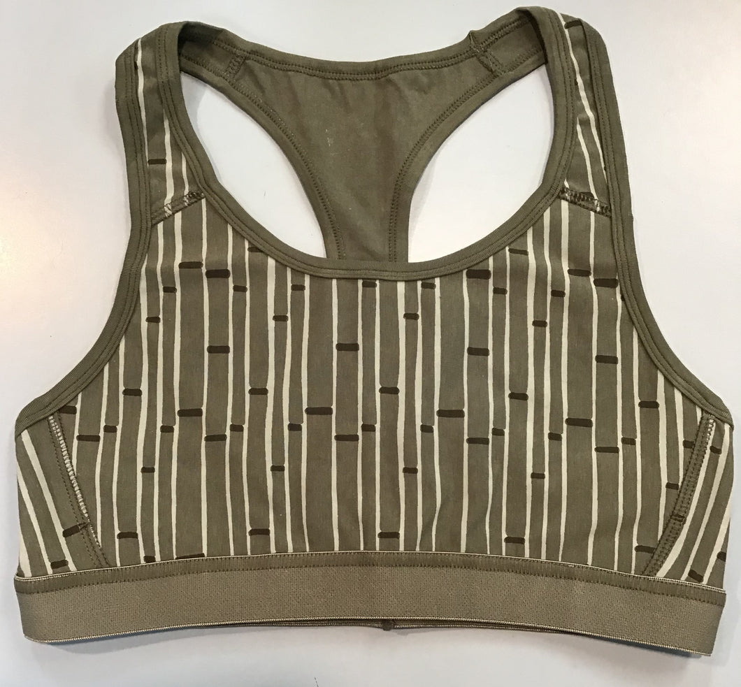 Performance Jersey Sports Bra-Succulent Bamboo