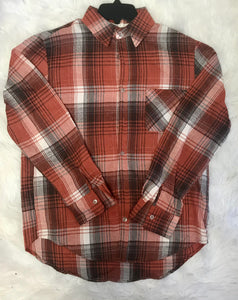 Ginger Plaid Flannel