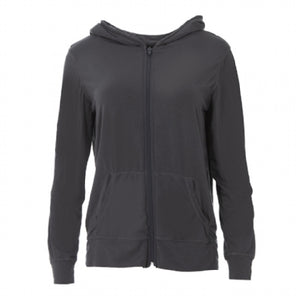 Performance Solid Lightweight Hoodie-Stone