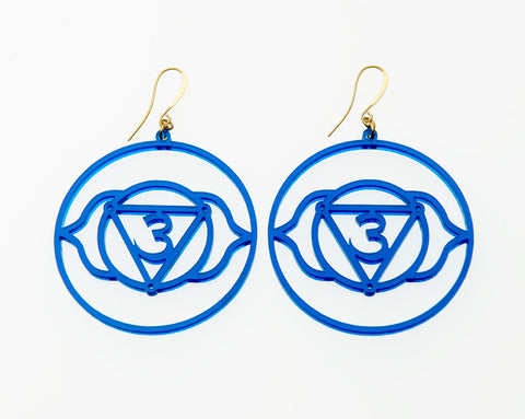 6th Chakra Earrings - Ajna - Third Eye Chakra