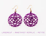 7th Chakra Earrings - Sahasrara - Crown Chakra