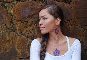 Vesica Piscis Earrings