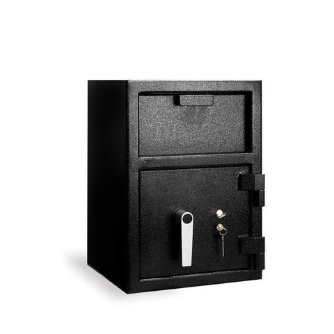 "Front Load Depository Safe (20""h x 14""w x 14""d) with Key Lock"