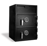 "Front Load Depository Safe, Double Door (28""h x 20""w x 20""d)"