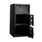 "Front Load Depository Safe, Double Door (27""h x 14""w x 14""d)"