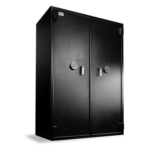 "Heavy Duty Inventory Safe, 2 doors (72""h x 48""w x 27""d)"