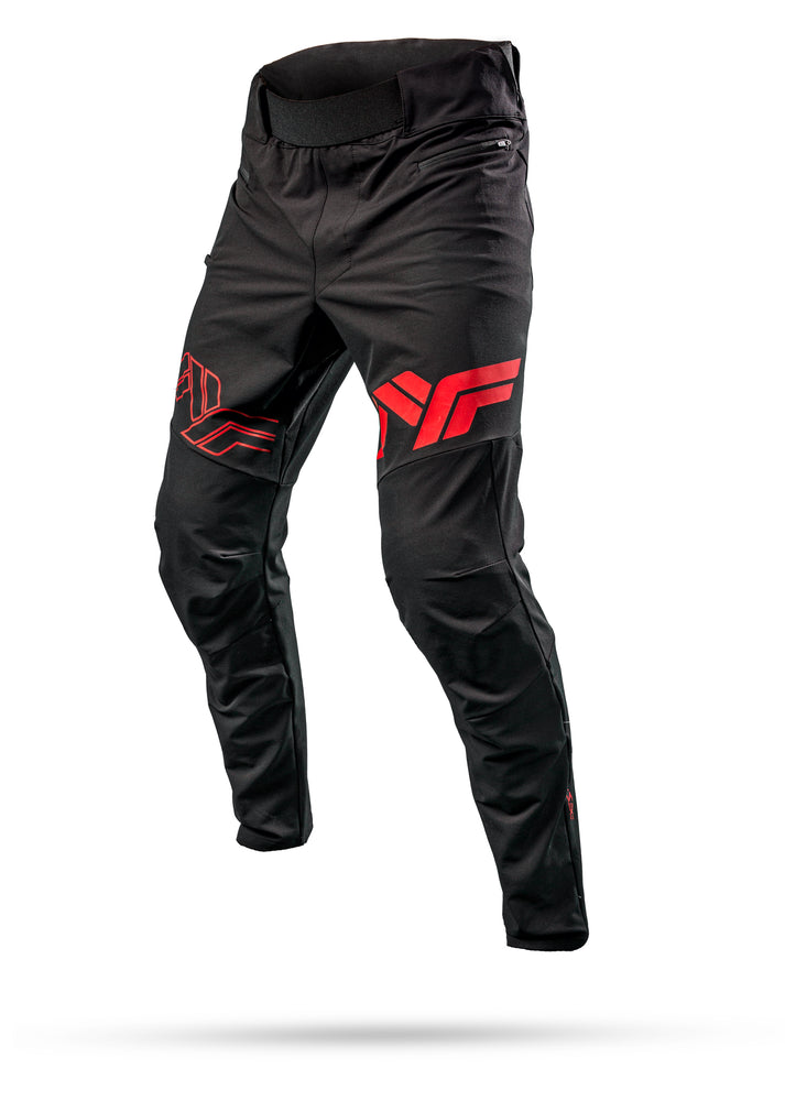 Destroyer V2 Pant - Black/Red