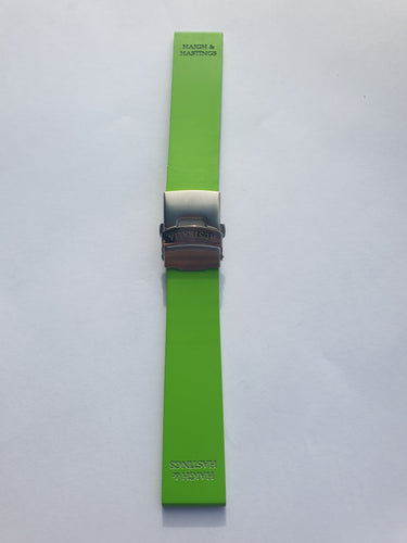 Lime Green - Deployment clasp
