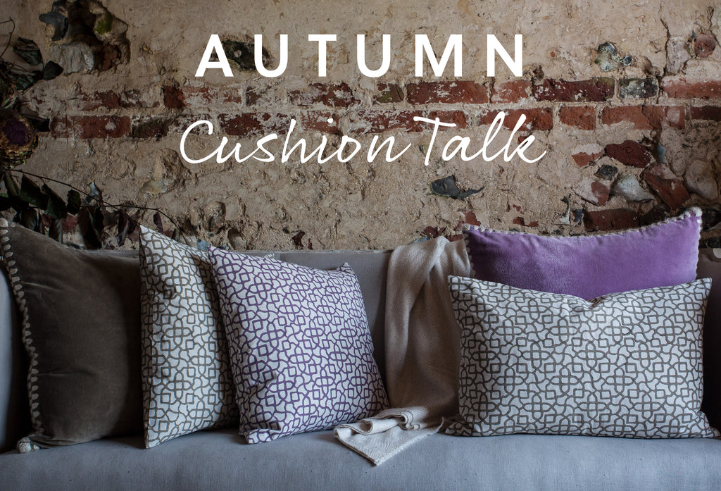 Autumn Cushion Talk