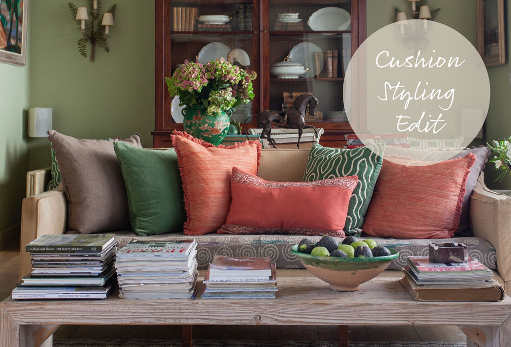 Cushion Styling Edit