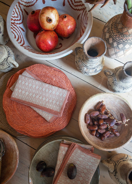 Birdie Fortescue | Medina Table Linen Story
