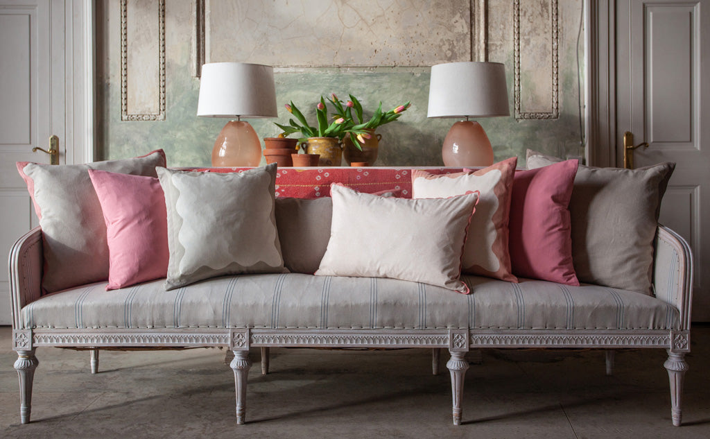 Birdie Fortescue Story | Mulaayam Cushions Blush