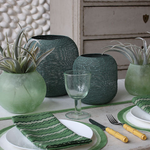 Birdie Fortescue | Green Votives