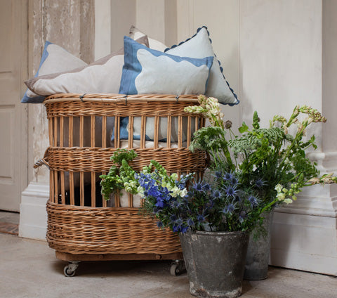 Birdie Fortescue Story | Mulaayam Cushions Soft Denim