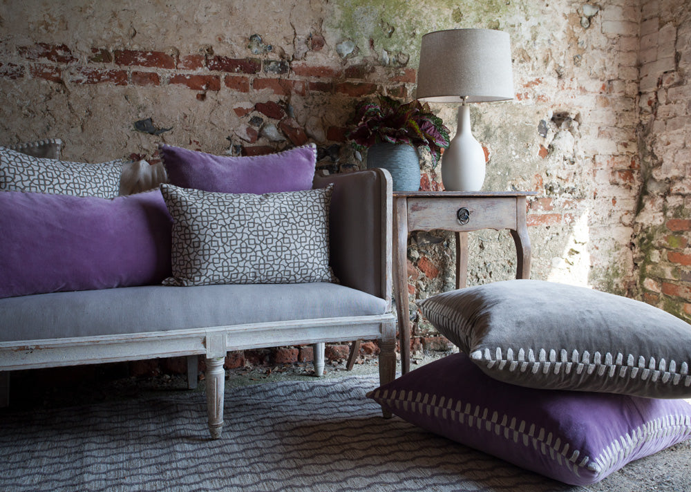 Birdie Fortescue | Versha Cushion Story